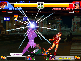 KOF screenshot 1