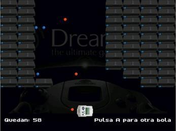 Dreamcastnoid – Arkanoid homebrew port for Dreamcast made in
